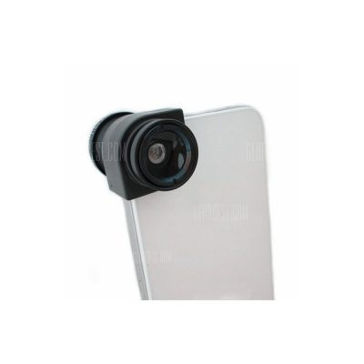 smartylife-LX - 01 Detachable Wide Angle + Micro + Fisheye Macro Camera Lens Kit