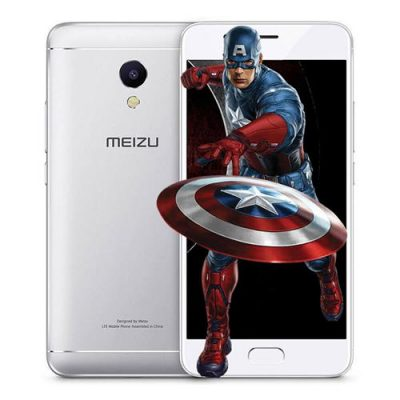 smartylife-MEIZU M5S 5.2 Inch 3GB RAM 32GB ROM 5.0MP+13.0MP Cam MT6753 Octa Core 1.3GHz 4G LTE Flyme 5 Smartphone Quik Charge Metal Body Touch ID - Silver
