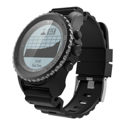 smartylife-Makibes G07 IP68 Water Resistant Smart Sport Watch GPS Snorkeling Nordic4.0 IOS8 Android4.3 GPS Fitness - Black