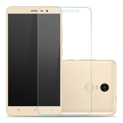 smartylife-Makibes Toughened Glass 0.33mm Screen Protector Film Cover Arc Edge For Xiaomi Redmi Note 3 - Transparent