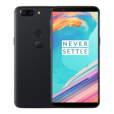 smartylife-OnePlus 5T 6.01 Inch Smartphone 18:9 FHD+ Screen Snapdragon 835 Octa Core 8GB 128GB 20.0MP+16.0MP Dual Rear Cam OxygenOS NFC Dash Charge Type C - Black