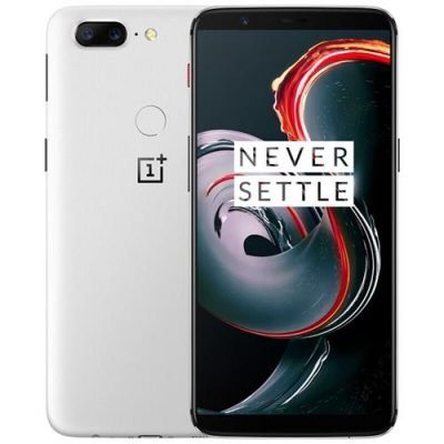 smartylife-OnePlus 5T 6.01 Inch Smartphone 18:9 FHD+ Screen Snapdragon 835 Octa Core 8GB 128GB 20.0MP+16.0MP Dual Rear Cam OxygenOS NFC Dash Charge Type C - White