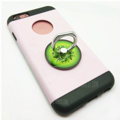 smartylife-PC Universal Mobile Finger Stand Kiwi Fruit Pattern for iPhone 6 / 6s / 7 / 8