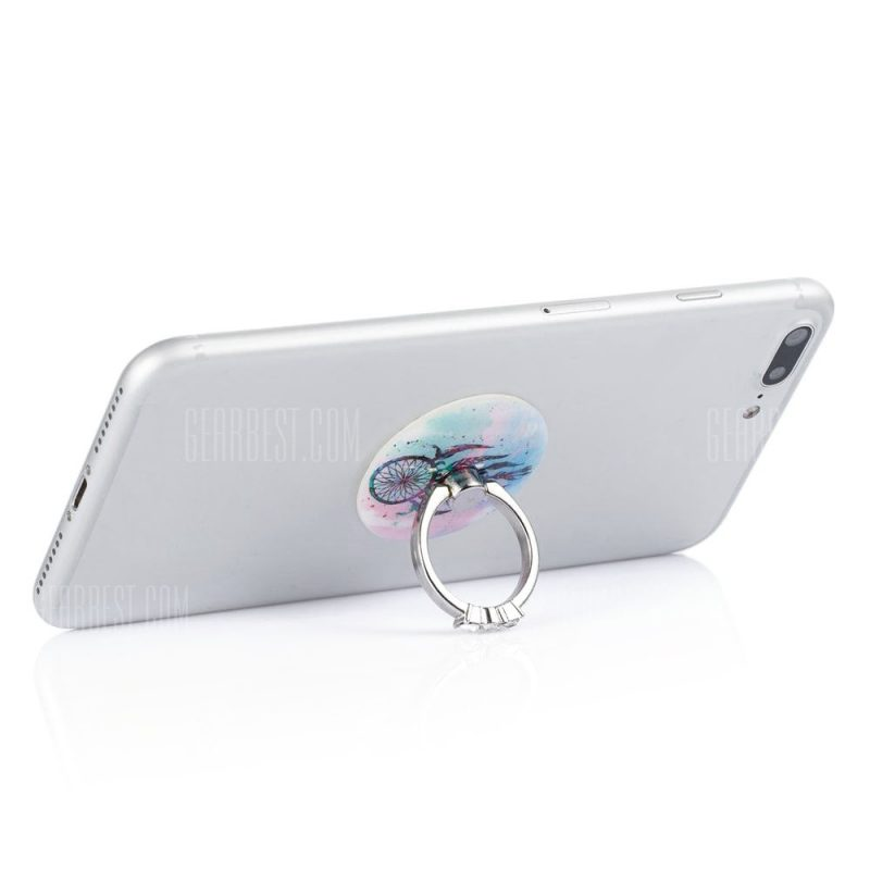smartylife-Practical Crystal Phone Ring Stand Holder