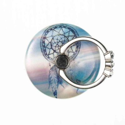 smartylife-Practical Windbell Pattern Round Phone Holder Ring