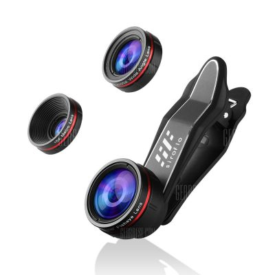 smartylife-Siroflo 3 in 1 Cell Phone Camera Lens Kit