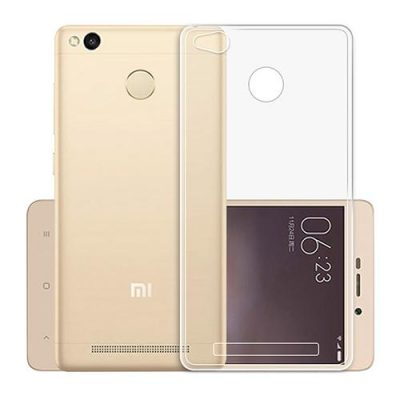 smartylife-Soft Case For XIAOMI Redmi 3 Pro/Redmi 3S Protective Phone Shell Transparent Back Cover