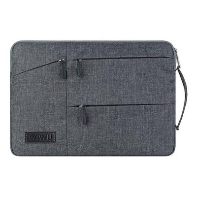 smartylife-WIWU Universal Notebook Air Laptop Storage Bag for 15.6 Inch - Gray