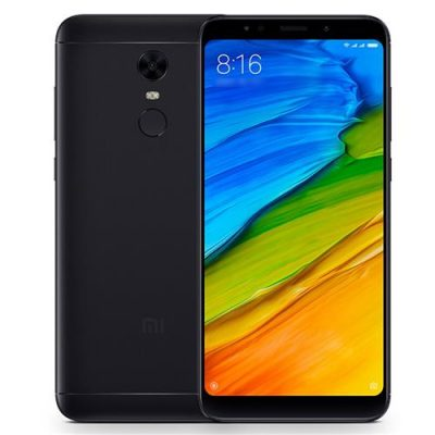 smartylife-Xiaomi Redmi 5 Plus 5.99 Inch 4G LTE Smartphone 18:9 Full Screen MIUI 9 3GB 32GB Snapdragon 625 Octa Core 12.0MP Cam - Black