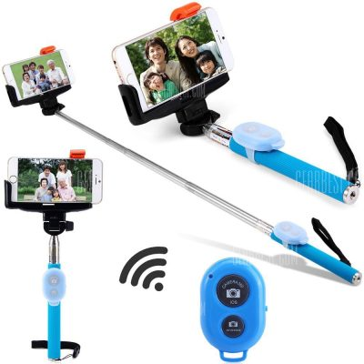 smartylife-Z07 - 9 Self - Timer Monopod Bluetooth Remote Control Camera Shutter Clip Holder Tripod Sets