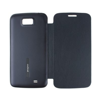 smartylife-(ZOPO) Black Protective PU Leather Hard Case Cover Shell for ZOPO Leder ZP900/ZP900+
