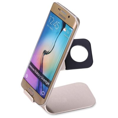 smartylife-2 in 1 Aluminum Charging Holder for iWatch Smartphones