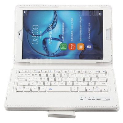 smartylife-BTV - DL09 Bluetooth Keyboard Case for Huawei MediaPad M3 WINDOWS 10 + ANDROID 5.1