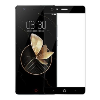 smartylife-Black ZTE Nubia Z17 / Nubia Z17 Lite Glass Film 0.26mm 2.5D Arc Edge Explosion-proof Membrane Screen Film