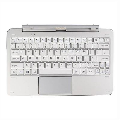 smartylife-Original Cube Mix Plus 10.6 Inch Magnetic Touchpad Keyboard - Silver