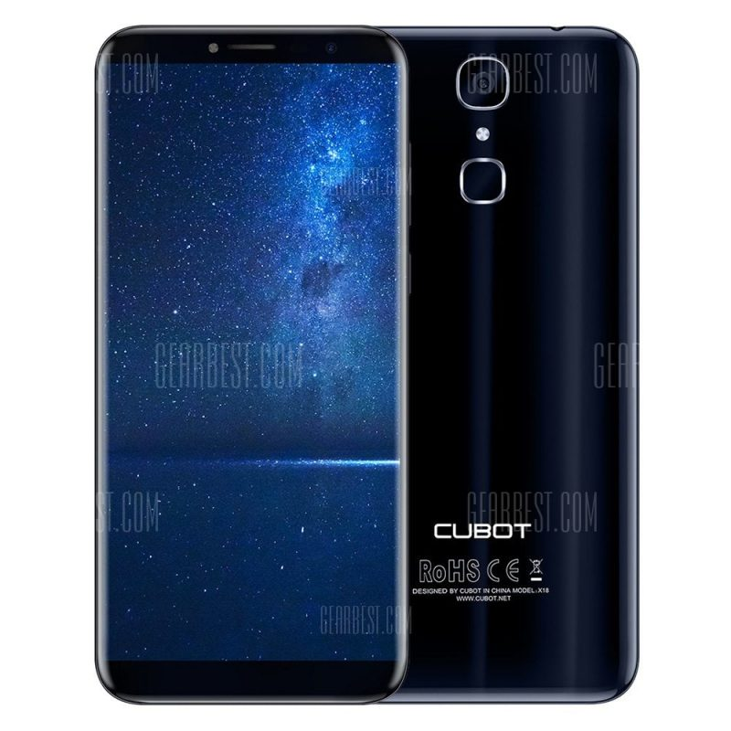 smartylife-Cubot X18 4G Smartphone