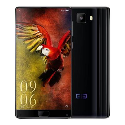 smartylife-Elephone S8 6.0 Inch Smartphone 2K Full Screen Helio X25 Deca Core 4GB 64GB 21.0MP Cam Android 7.1 Touch ID 4000mAh  Quick Charge 3D Curved Glass Body - Black