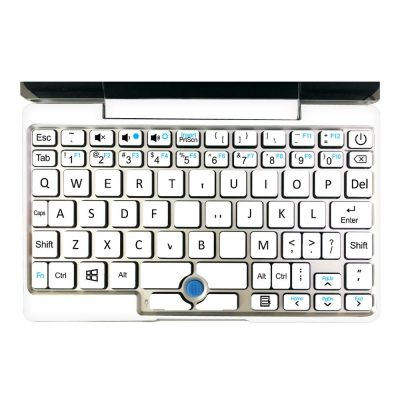 smartylife-GPD Pocket Full Shell & Keyboard Stickers Japanese Keybaord  Version - White