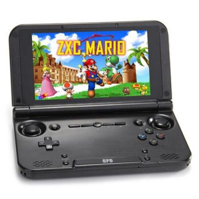 smartylife-GPD XD Plus Gamepad Tablet PC MT8176 Quad Core 5.0 Inch 1280*720 Android 7.0 Handheld Game 4GB RAM 32GB ROM - Black