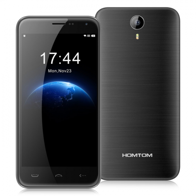 smartylife-HOMTOM HT3 PRO 5.0inch IPS HD Android 5.1 2GB RAM 16GB ROM 4G Smartphone MT6735 Quad Core 13.0MP Cameras - Dark Gray
