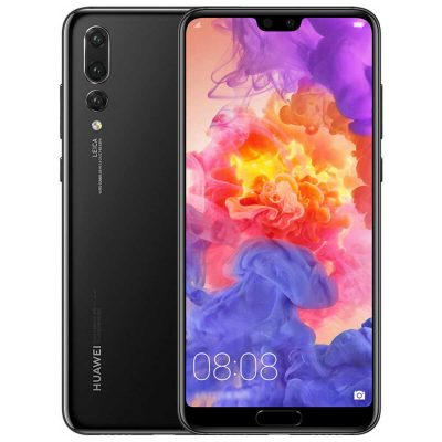 smartylife-HUAWEI P20 Pro 6.1 Inch Smartphone FHD+ Screen Kirin 970 6GB 128GB 20.0MP+40.0MP+8.0MP Three Rear Cameras Android 8.1 - Jet Black