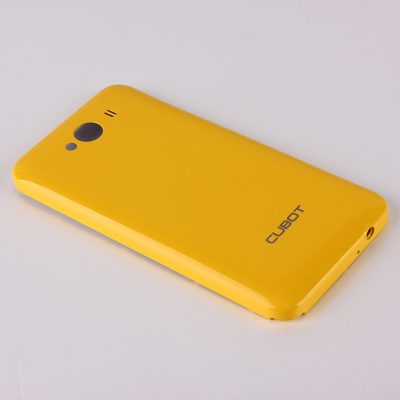 smartylife-High Quality Battery Back Cover for Cubot GT72 4.0 Inch MTK6572 Dual Core Smart Phone - Yellow