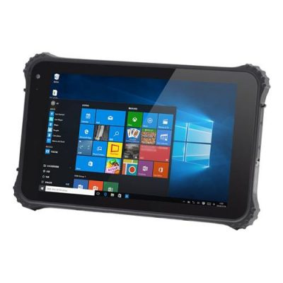 smartylife-I86H Rugged Tablet PC 8 inch IP67 Water Resistant Windows 10 4GB/64GB Intel Cherry Trail X5-Z8350 Quad Core IPS 1280*800 GPS - Black