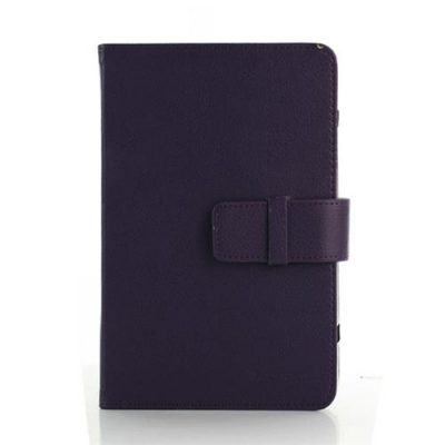 smartylife-Leather Full Shell Bag Case For 7 Inch Tablet Computer - Purple