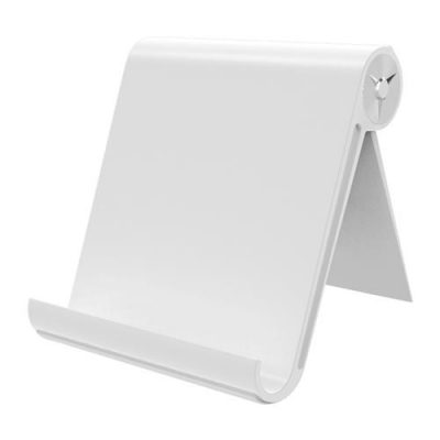smartylife-Lenuo DL-19 Mobile Phone Tablet PC Bracket Adjustable Stand Holder - White