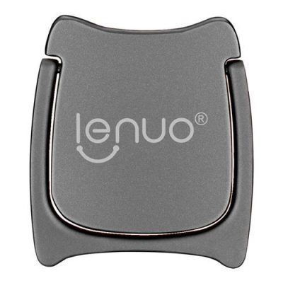 smartylife-Lenuo DL-21 360 Degree Rotation Bracket Ring Holder For Mobile Phone - Gray