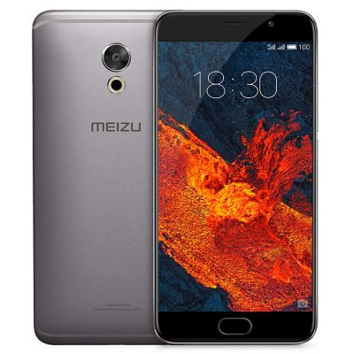 smartylife-MEIZU PRO 6 Plus 5.7 Inch Smartphone Exynos 8890 4GB 64GB 12.0MP Rear Camera Flyme OS 2K Screen Touch ID - Gray
