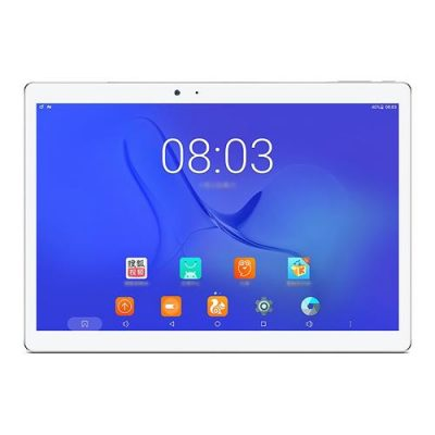 "smartylife-Teclast T10 10.1"" Android 7.0 Tablet PC MediaTek MT8176 Hexa Core 4GB RAM 64GB Fingerprint Sensor GPS Dual Camera Dual WIFI  - Silver/White"