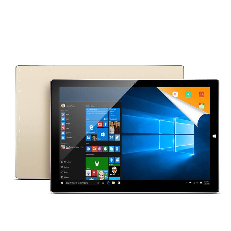 smartylife-Teclast TBook 10S Tablet PC 10.1 inch Dual OS Windows 10 + Android 5.1 4GB/64GB Intel Atom X5 Z8350 Quad Core 1.92GHz IPS 1920*1200 - Gold