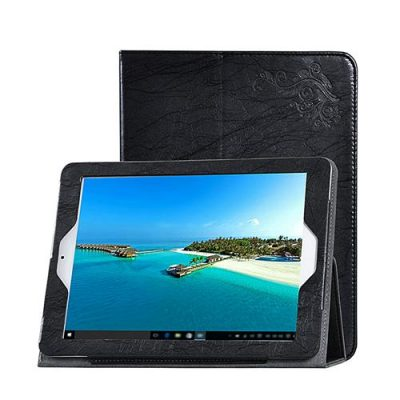 smartylife-Teclast X98 Plus II 9.7 inch Protective Leather Case with Stand & Arm Band Functions - Black