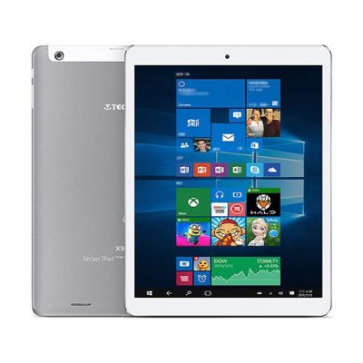 smartylife-Teclast X98 Plus II 2in1 Tablet Intel Cherry Trail Z8350 9.7 inch Dual OS Windows 10 + Android 5.1 4GB/64GB Quad Core 1.92GHz IPS Retina 2048*1536 Screen - Gray