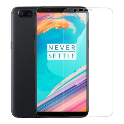 smartylife-Transparent OnePlus 5T Tempered Glass 2.5D Arc Screen 0.3mm Protective Glass Film Screen Protector