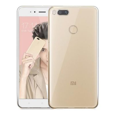 smartylife-Transparent Xiaomi Mi 5X / Mi A1 Case Air Shell Silicone  Back Cover High Quality Protective Soft Case
