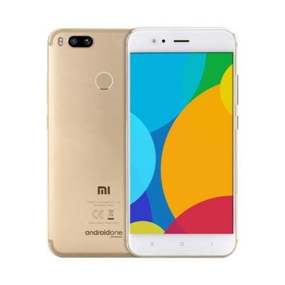 smartylife-Xiaomi Mi A1 5.5 inch Smartphone Android One Dual Rear 12.0MP Cam Snapdragon 625 4GB 64GB IR Remote Control Full Metal Body - Gold