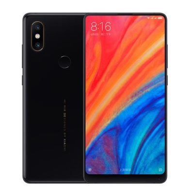 smartylife-Xiaomi Mi Mix 2S 5.99 Inch 4G LTE Smartphone Qualcomm Snapdragon 845 Octa Core 8GB 256GB 12.0MP Dual Rear Cameras MIUI 9 Type-C Ceramic Body - Black