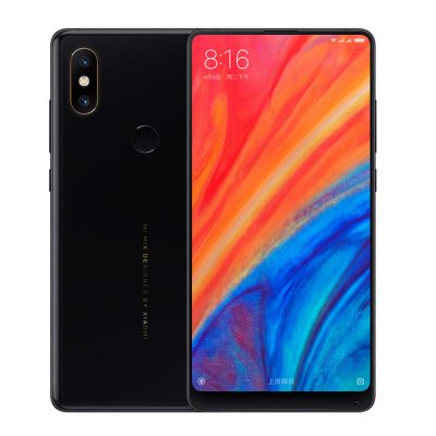 smartylife-Xiaomi Mi Mix 2S 5.99 Inch 4G LTE Smartphone Qualcomm Snapdragon 845 Octa Core 6GB 64GB 12.0MP Dual Rear Cameras MIUI 9 Type-C Ceramic Body - Black