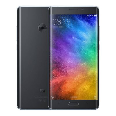 smartylife-Xiaomi Note 2 5.7inch OLED Curved FHD Screen Android 6.0 OS 4G+ LTE Smartphone Qualcomm Snapdragon 821 4GB 64GB 22.56MP Touch ID NFC 3D Glass Cover - Silver Black