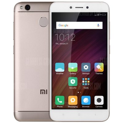 smartylife-Xiaomi Redmi 4X 4G Smartphone INTERNATIONAL VERSION 4GB RAM 64GB ROM