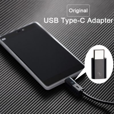 smartylife-Original Xiaomi Usb-C Adapter USB Type-C To Micro USB Adapter for Google Nexus 6P Nexus 5X Xiaomi Mi4c OnePlus Two Sony Z5 Lenovo Zuk Z1 Meizu Pro 5 Xiaomi Mi4s Xiaomi Mi5