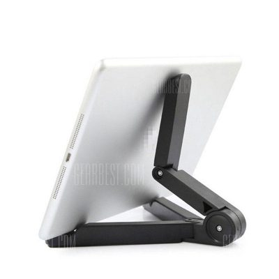 smartylife-Universal Desktop Tablet Bottom Triangle Bracket PC Lazy Support Folded Phone Stand Rotate Holder