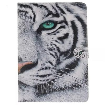 smartylife-White Tiger Style Protective Case for Samsung Galaxy Tab 4 T230