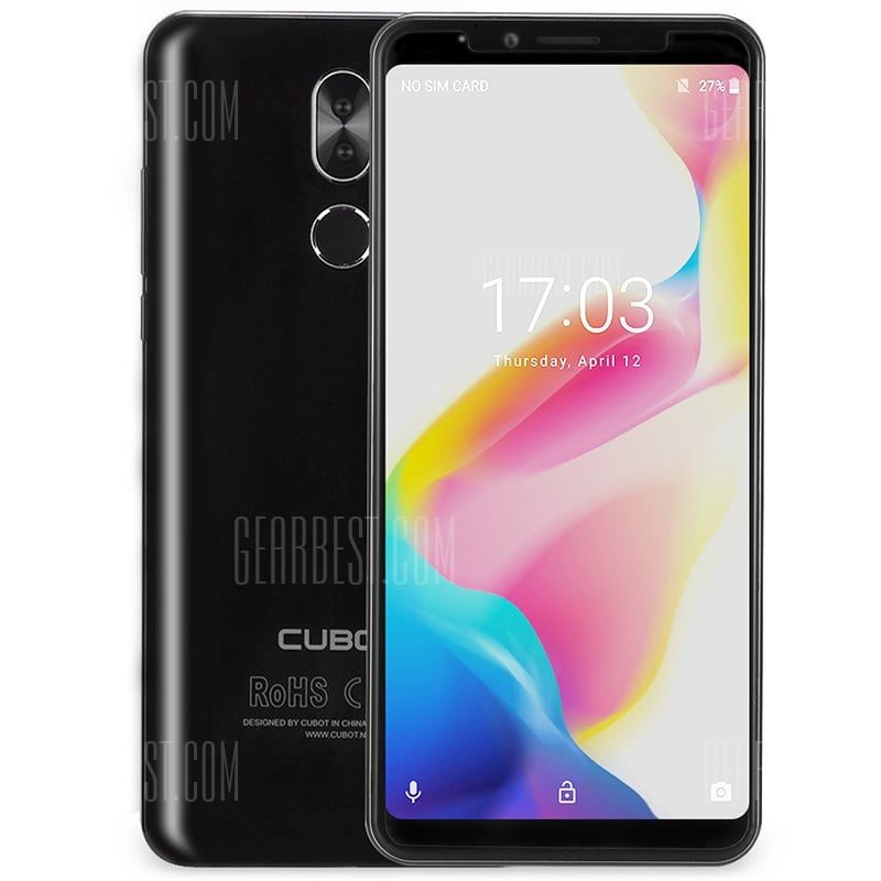 smartylife-CUBOT X18 Plus 4G Phablet