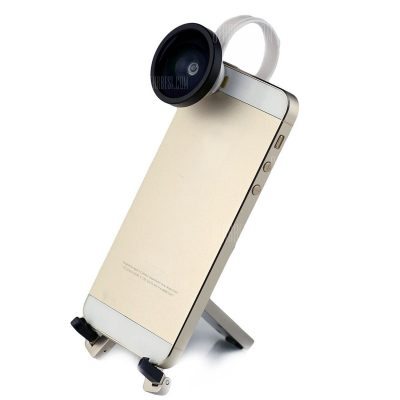 smartylife-Portable Smart Phone Clip 0.4 Wide Angle Camera Lens for Android / iOS Phone / iPad