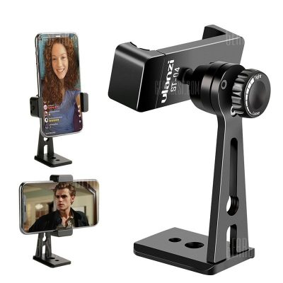 smartylife-Ulanzi Adjustable Tripod Mount Adapter Vertical 360 Rotation Phone Holder