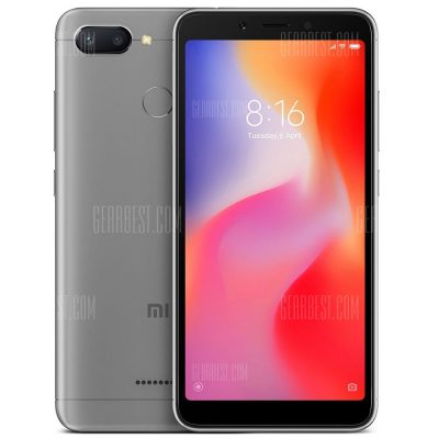 smartylife-Xiaomi Redmi 6 5.45 inch 4G Smartphone Global Edition